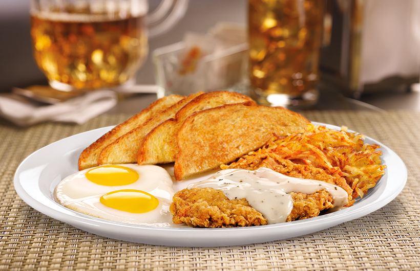 Country Fried Steak Eggs Denny S Canada