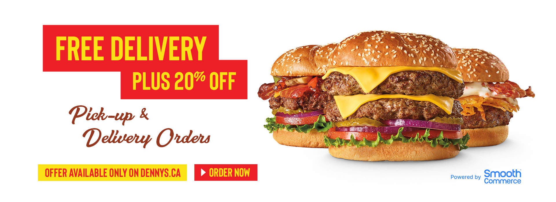 Denny's Canada launches a new model of delivery and ordering powered by Smooth Commerce and DoorDash Drive During Wake of Pandemic