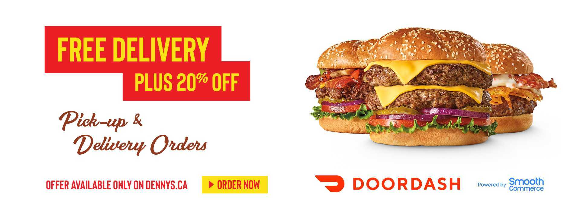 FREE Delivery PLUS 20% Off. Win $50 Towards Your Next Online Order.