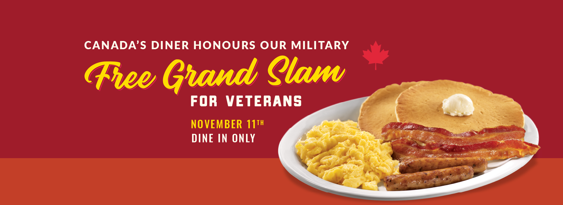 You Served Us. Now Let Us Serve You.