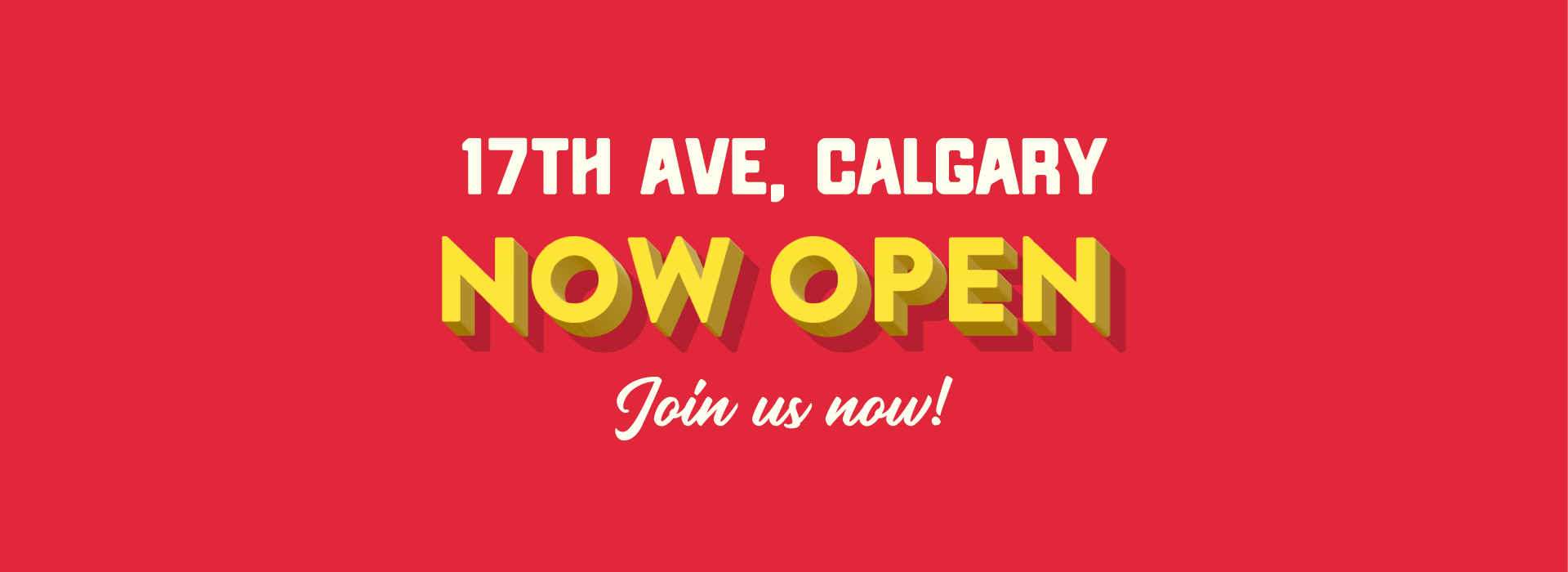 17th Ave Now Open